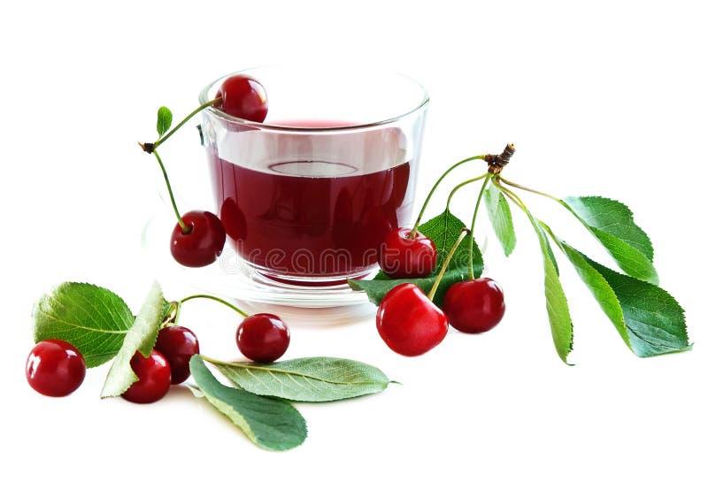 питье вишни стоковая фотография rf