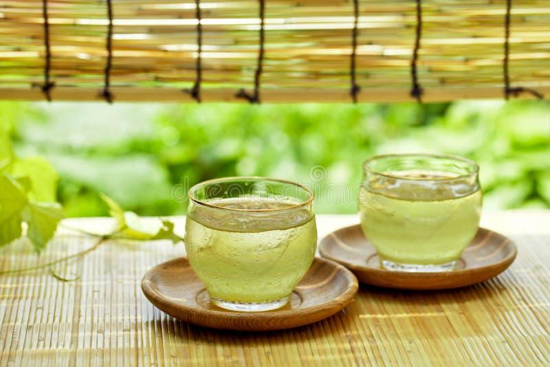 Питье лета в Японии стоковое фото