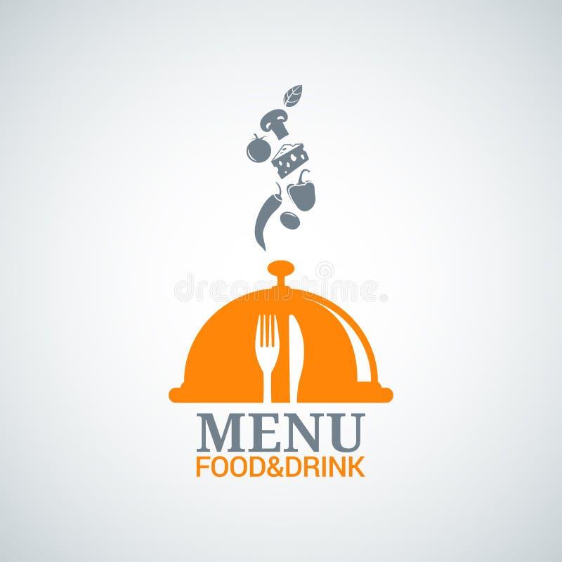 Питье еды дизайна меню dishes предпосылка бесплатная иллюстрация