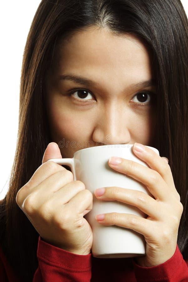 питье кофе стоковое изображение rf