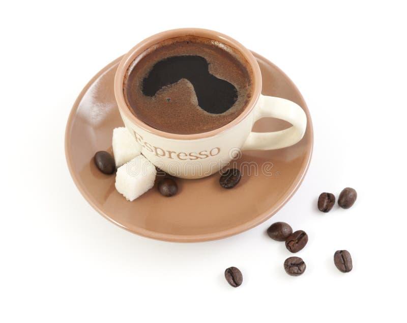 Питье кофе стоковое фото rf