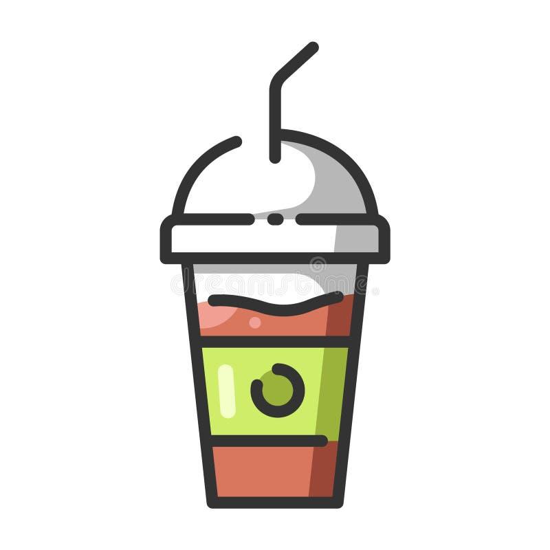 Питье Smoothie иллюстрация вектора
