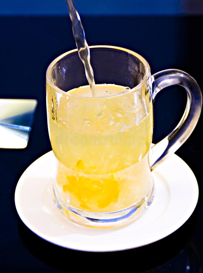 пить холода Стоковая Фотография
