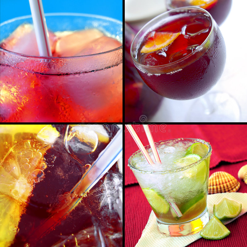 пить холода стоковые изображения rf