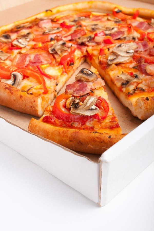 пицца гриба стоковые изображения rf