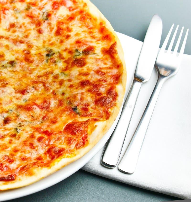 Пицца Маргарита стоковые изображения rf
