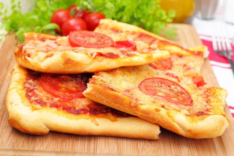 Пицца Маргарита стоковое изображение rf
