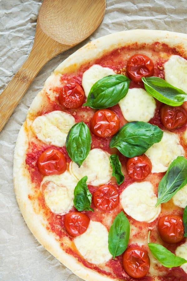Пицца Маргарита стоковые фотографии rf