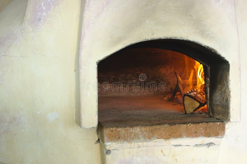 Пицца печки стоковые изображения rf