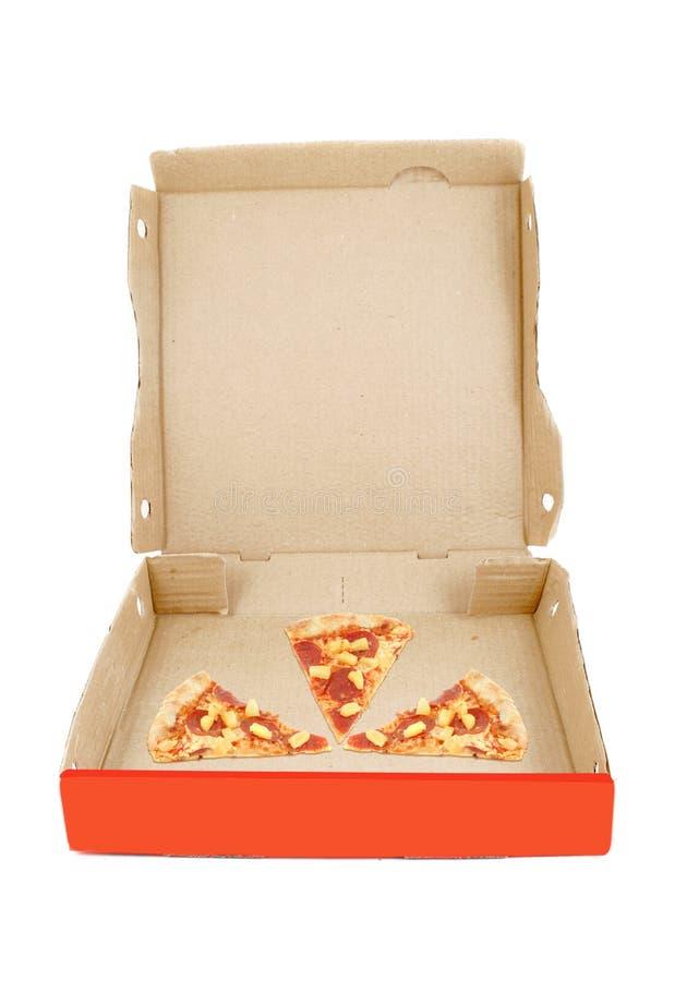 пицца поставки коробки стоковое изображение rf