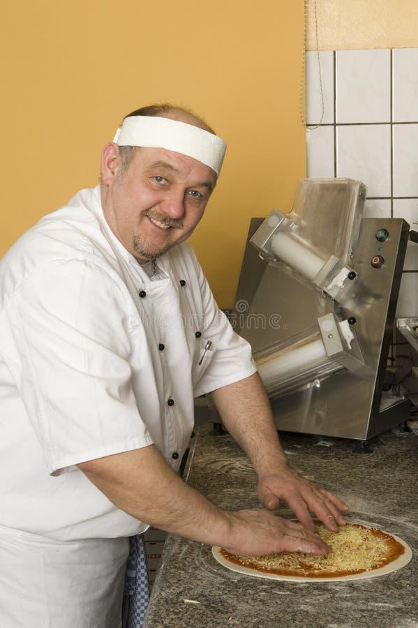 пицца хлебопеков стоковая фотография