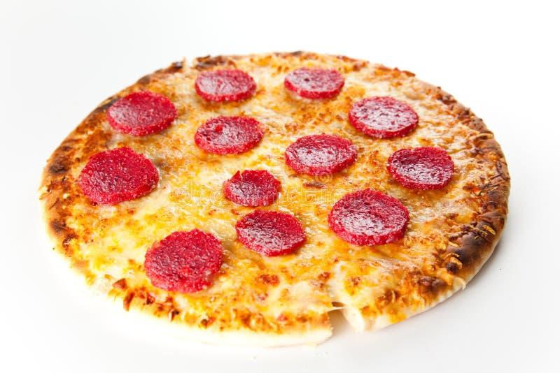 пицца pepperoni сыра стоковые изображения