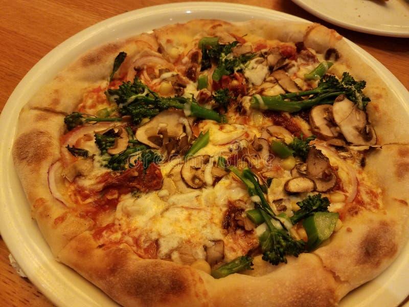 Пицца veggie стиля Нью-Йорка стоковые фото