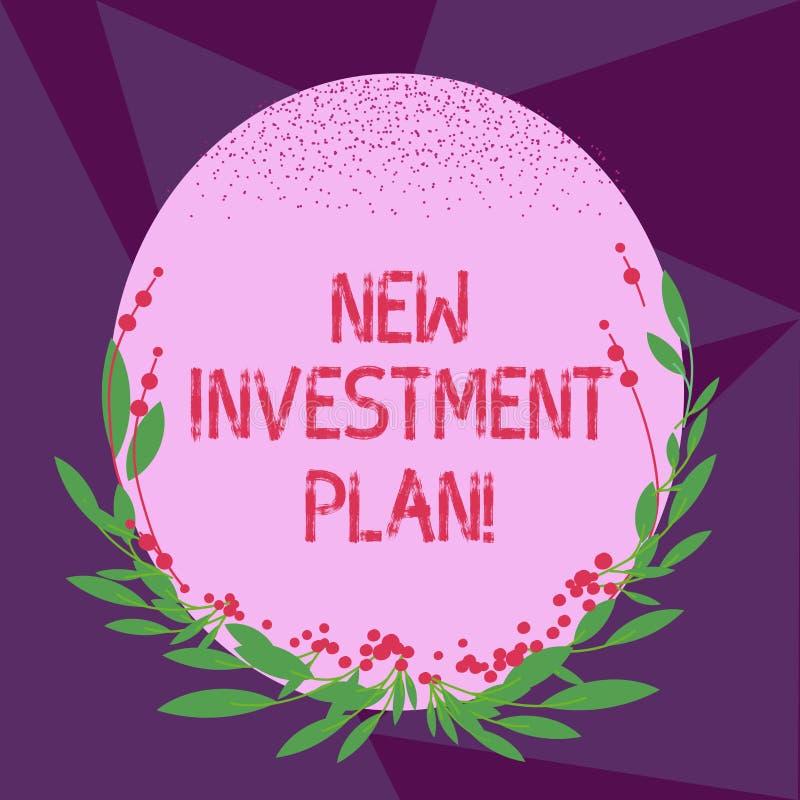 Пишущ показу примечания новый план капиталовложений Инвесторы фото дела showcasing делают регулярные равные оплаты во взаимное иллюстрация вектора