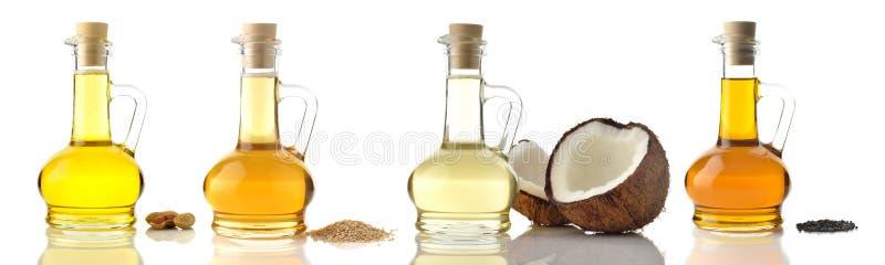 Пищевые масла стоковые фото
