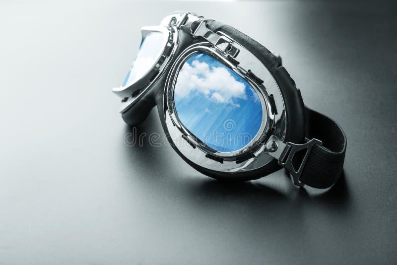 Пилотные стекла стоковые фотографии rf