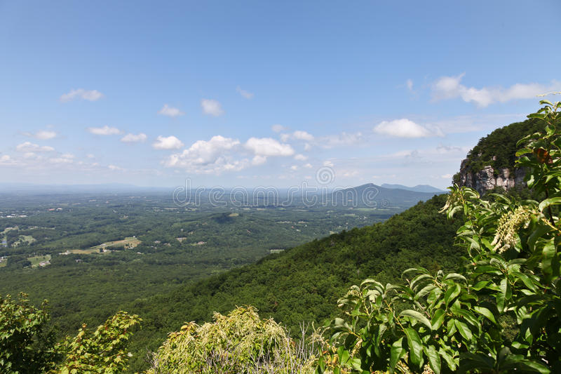 Пилотный пейзаж горы стоковые фото