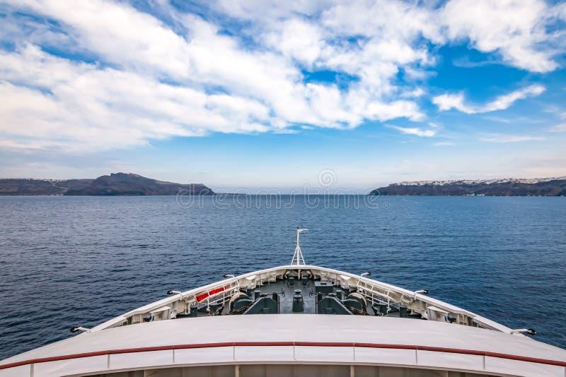 Плавание на Эгейском море стоковое изображение rf