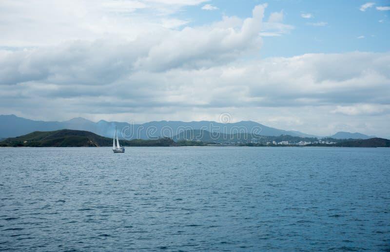 Плавание Новая Каледония стоковое фото