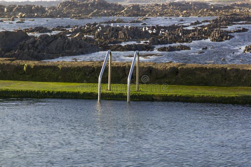 Плавательный бассеин воды океана стоковая фотография