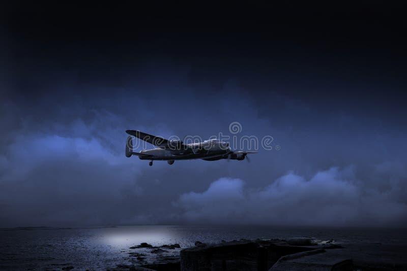 Плавать вдоль побережья внутри стоковые фотографии rf