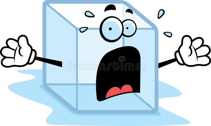 плавить льда иллюстрация вектора