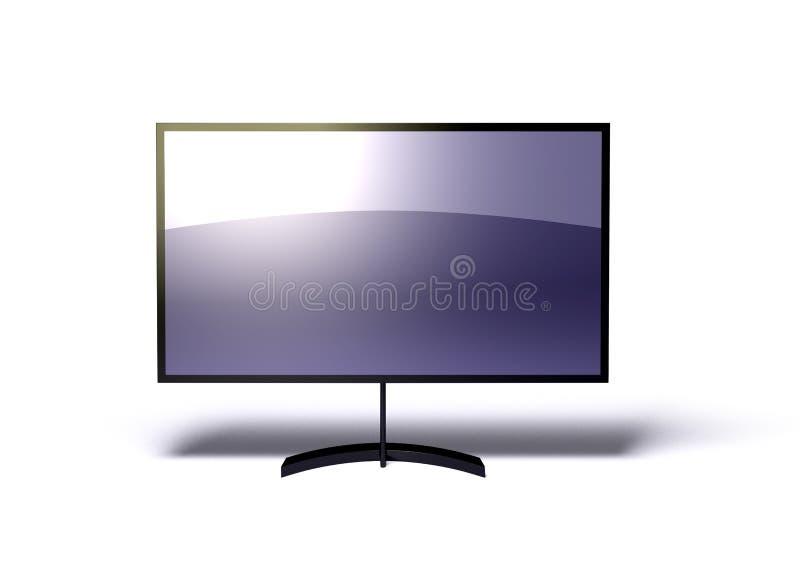 плазма tv иллюстрация вектора
