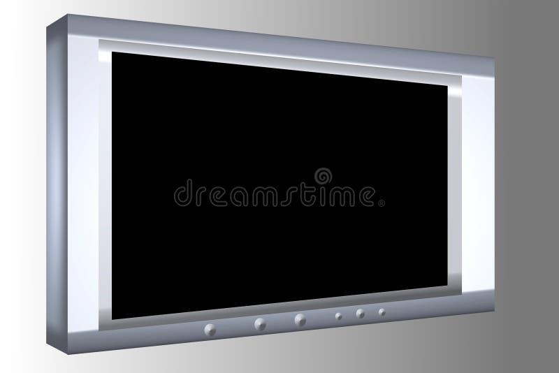 плазма tv стоковое фото
