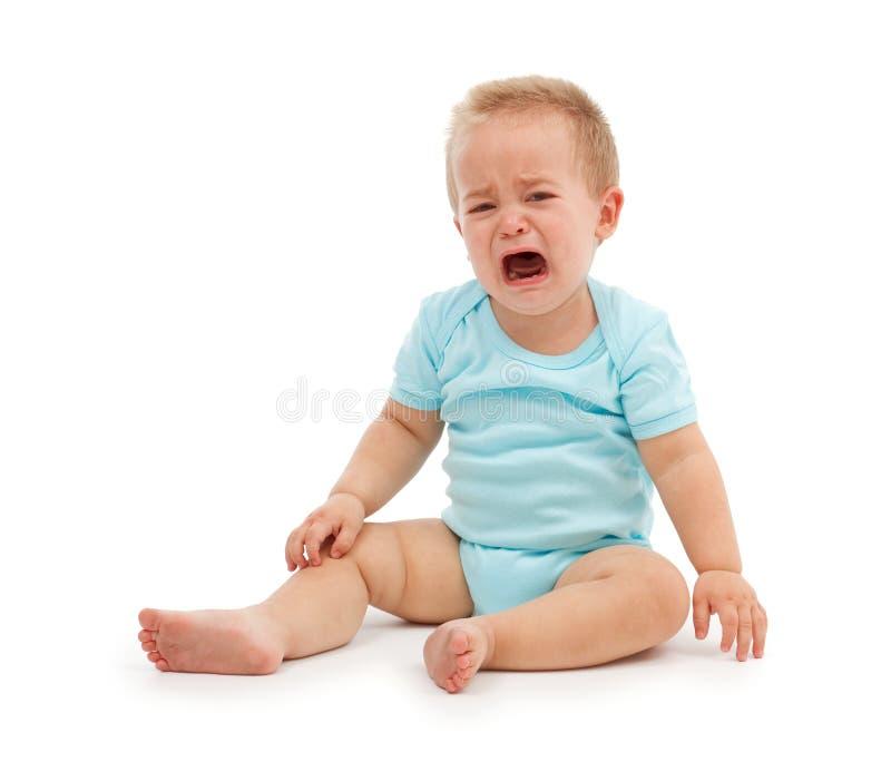плакать младенца стоковое фото