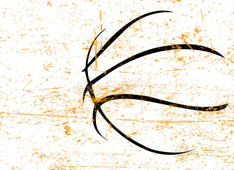 плакат баскетбола стоковые фото