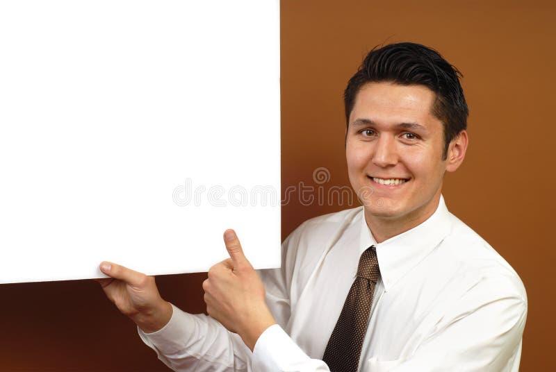 плакат бизнесмена стоковые изображения