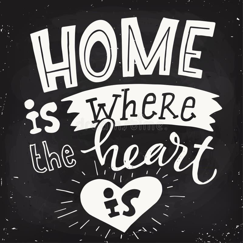 Плакат вектора мотивационный с сердцем и помечать буквами дизайн классн классного бесплатная иллюстрация