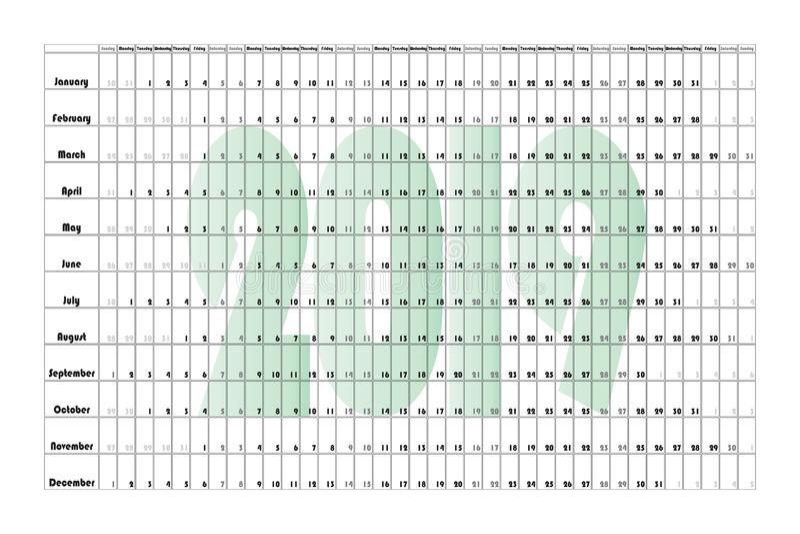 Плакат 6000-4000 ландшафта плановика стены Green-2019 стоковая фотография