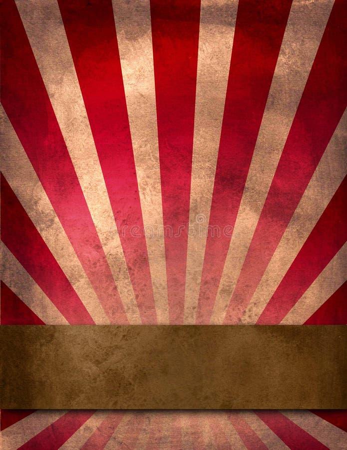 плакат цирка иллюстрация вектора