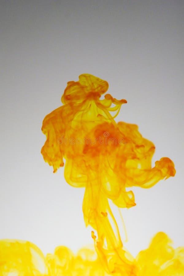 пламена взрыва стоковое изображение