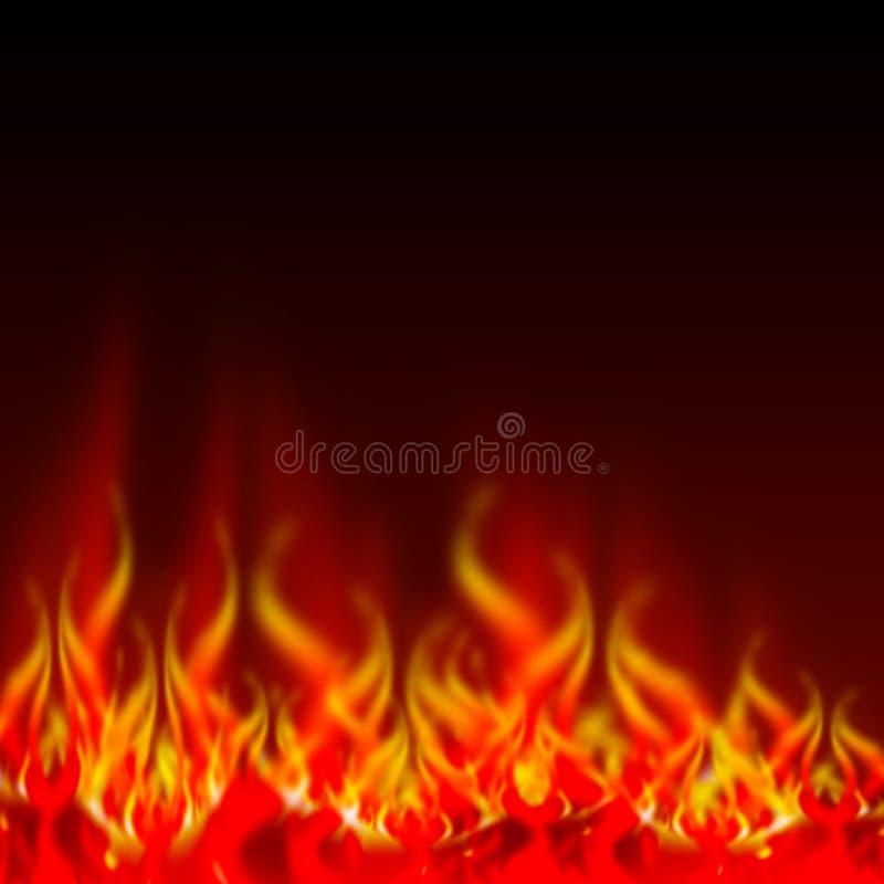 пламена пожара бесплатная иллюстрация