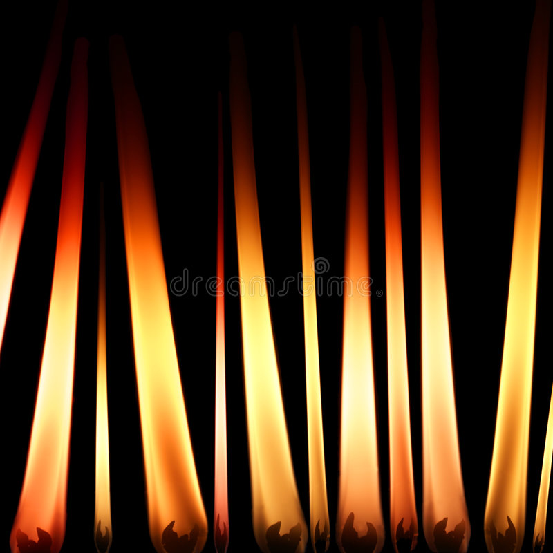 пламена свечки стоковое фото