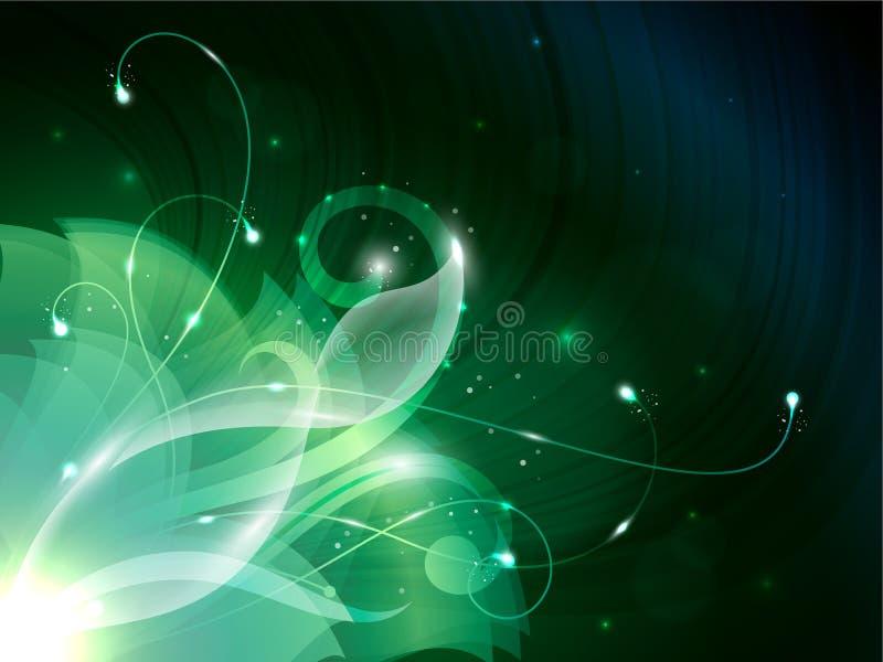 Пламенистый цветок иллюстрация вектора
