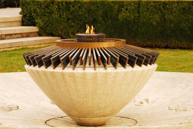 пламя олимпийское стоковые фотографии rf