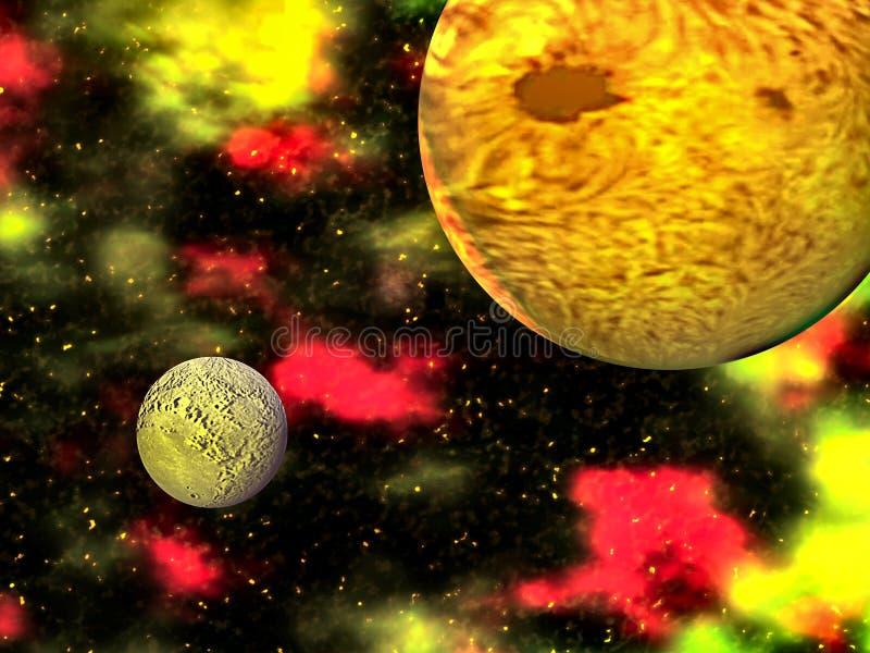 Планетарная горячая точка бесплатная иллюстрация