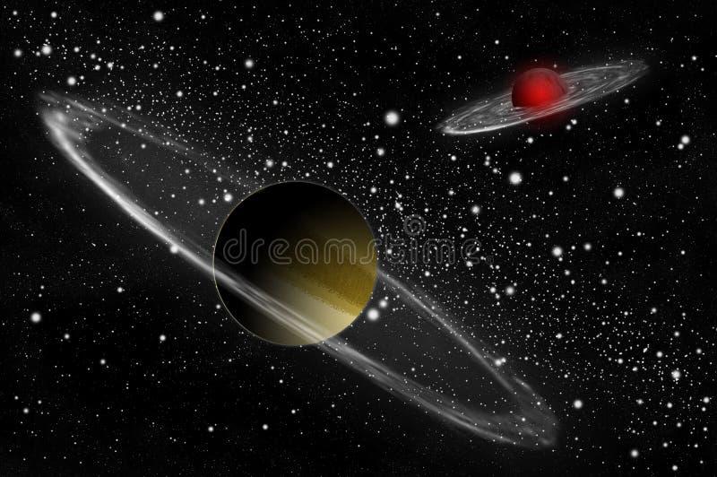 планета гиганта газа иллюстрация штока