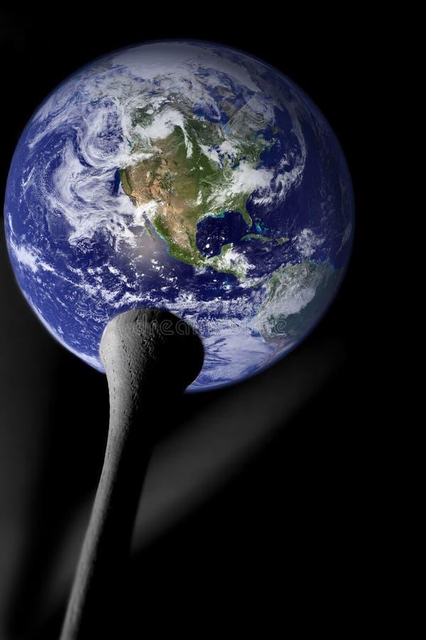 планета гольфа стоковые фотографии rf