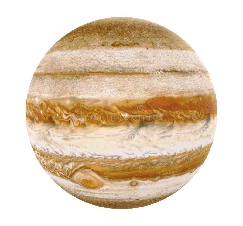 Планета Юпитер изолировала элементы этого изображения поставленные NASA иллюстрация штока