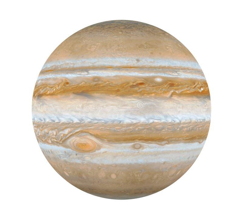 Планета Юпитер изолировала иллюстрация вектора