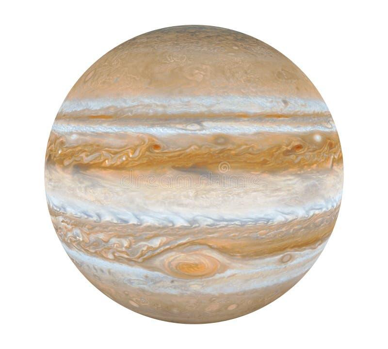 Планета Юпитер изолировала бесплатная иллюстрация