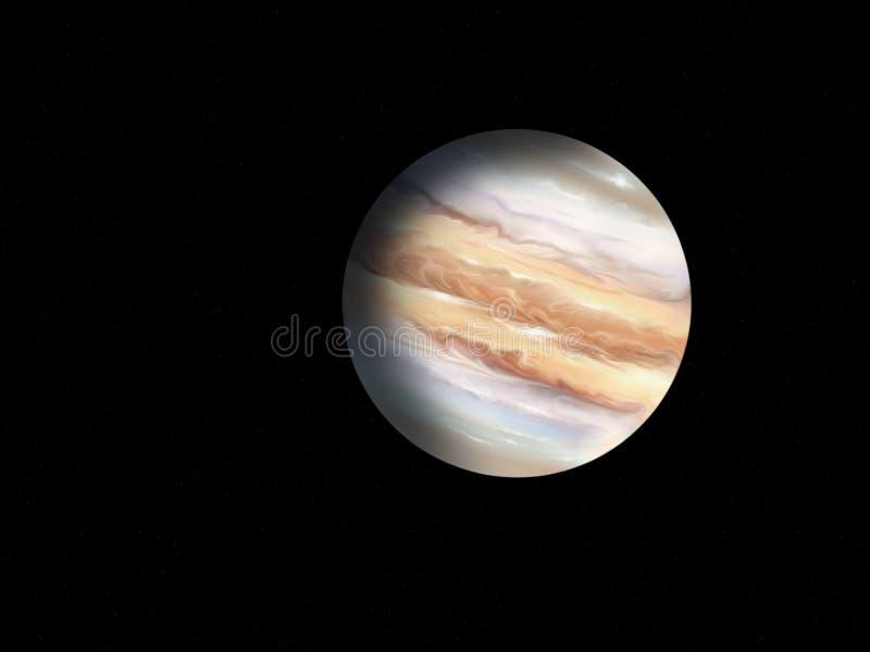 Планета Юпитер иллюстрация штока
