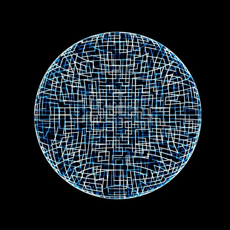 планета 3d Стоковая Фотография RF