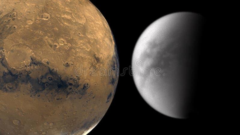 Планеты и галактика, космос, физическая космология стоковая фотография rf