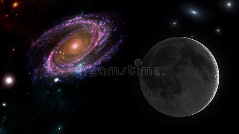 Планеты и галактика, космос, физическая космология стоковые фото