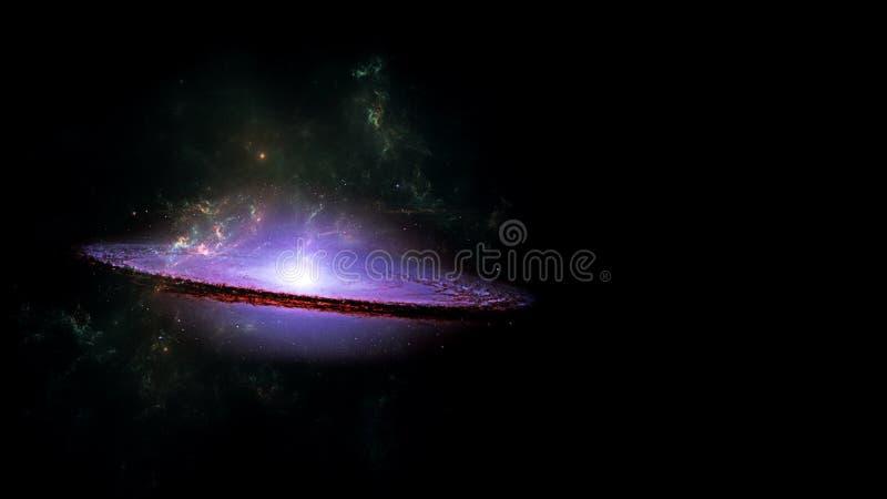 Планеты и галактика, космос, физическая космология стоковое фото